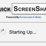 Screenshot of the QuickScreenShare.com website