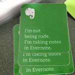 I'm Not Being Rude I'm Taking Notes in Evernote